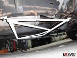 Rozpěrná tyč Ultra Racing Hummer H2 6.0 (03-09) - zadní spodní H výztuha