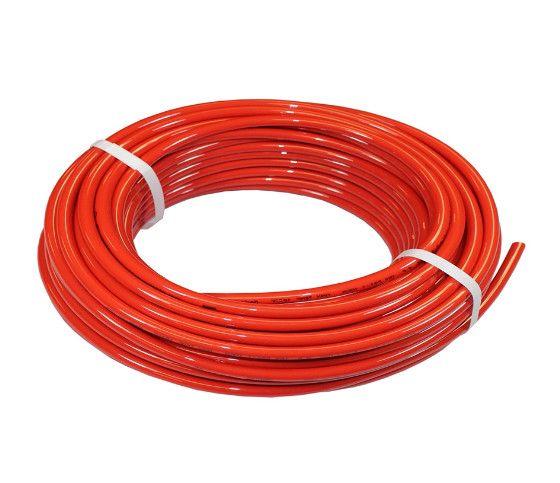 """Tlaková hadice Snow Performance - průměr 6,35mm (1/4"""") nylonová červená"""