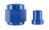 """Fitinka pro trubkové vedení (hardline) D-06 (AN6) 9/16""""x18-UNF na trubku 9,5mm (3/8"""")"""