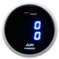 Přídavný budík Depo Racing Digital Blue LED - duální tlak nasávaného vzduchu