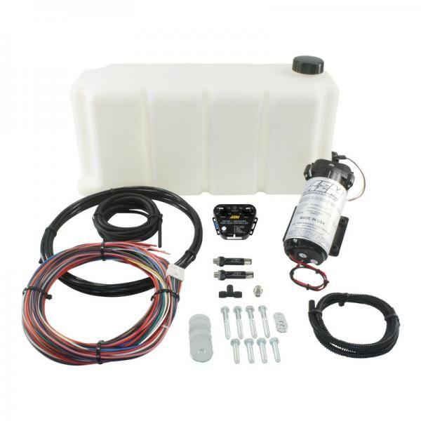 Vstřikování vody a metanolu AEM 30-3301 V2 - naftové motory - 19l nádržka