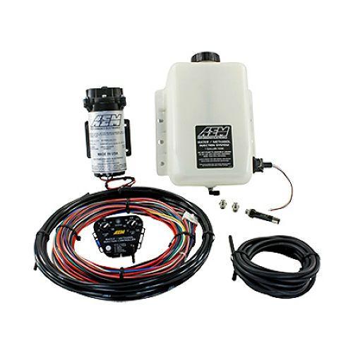 Vstřikování vody a metanolu AEM 30-3350 V2 - N/A + přeplňované high-boost motory - 3,8l nádržka