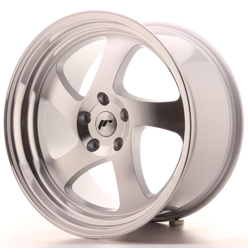 Alu kolo Japan Racing JR15 19x10 ET35 5x112 Silver Machined