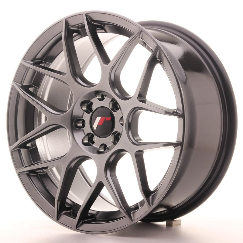 JAPAN RACING Alu kolo Japan Racing JR18 17x8 ET35 5x108/112 Hiper Black