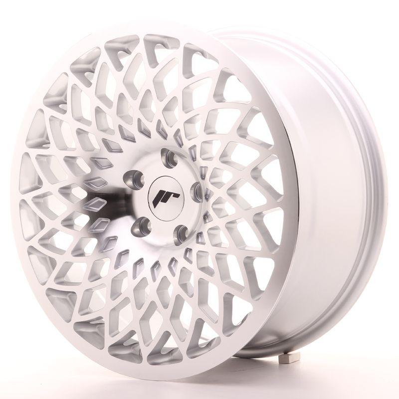 Alu kolo JR Wheels JR17 18x8,5 ET40 5x112 Silver Mach Face
