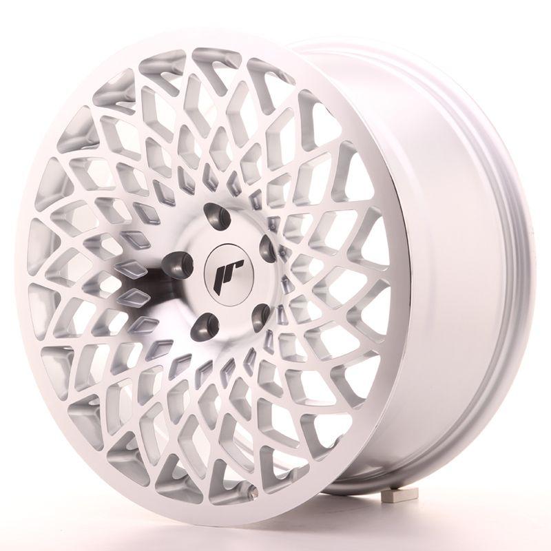 Alu kolo JR Wheels JR17 18x8,5 ET42 5x112 Silver Mach Face