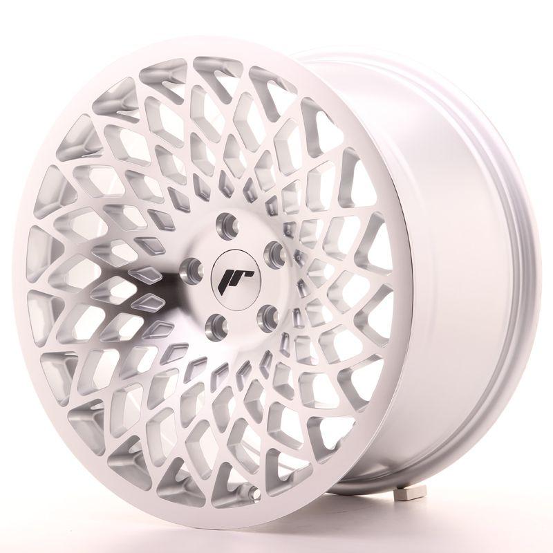 Alu kolo JR Wheels JR17 18x9,5 ET40 5x112 Silver Mach Face
