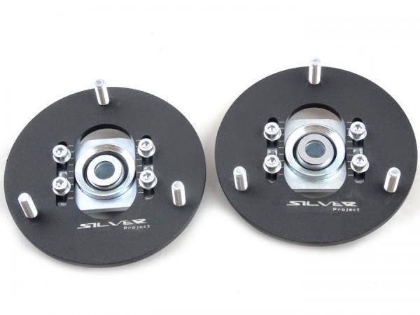 Přední horní uložení tlumičů (Pillowball Top Mounts) Silver Project BMW E39 / E46 / E90 - verze pro stavitelný podvozek