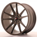 Alu kolo Japan Racing JR21 19x9,5 ET22 5x114/120 Matt Bronz