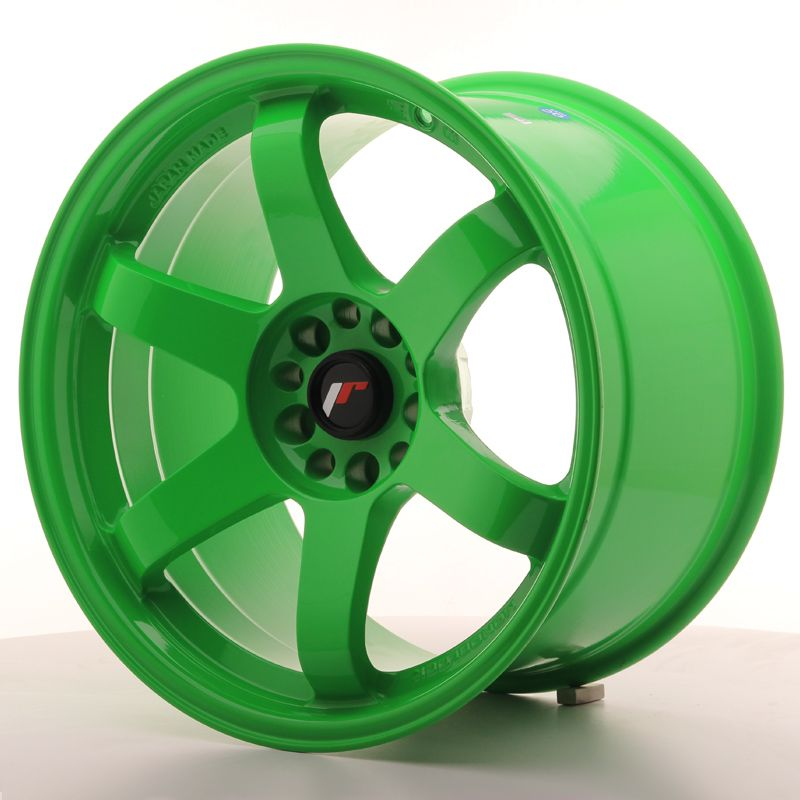 JAPAN RACING Alu kolo Japan Racing JR3 18x10,5 ET15 5x114,3/120 Green