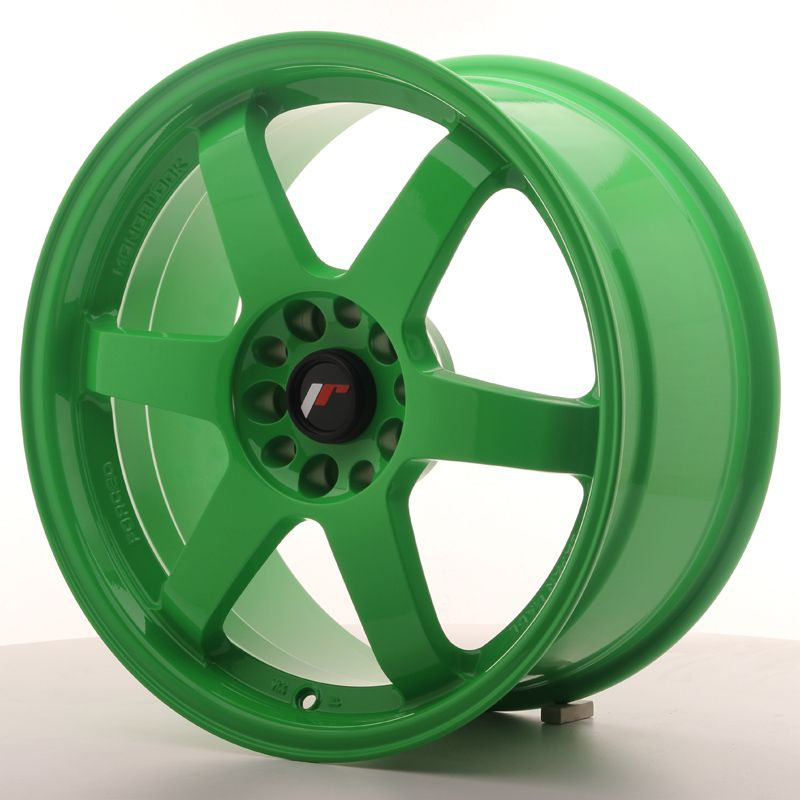 JAPAN RACING Alu kolo Japan Racing JR3 18x8,5 ET30 5x114,3/120 Green