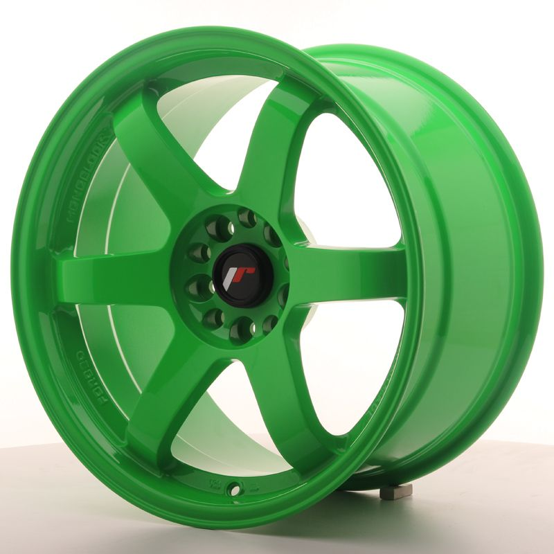 JAPAN RACING Alu kolo Japan Racing JR3 18x9,5 ET22 5x114,3/120 Green