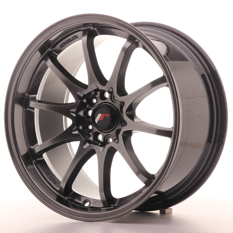 JAPAN RACING Alu kolo Japan Racing JR5 18x9,5 ET22 5x114,3 HypBlack