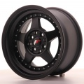 Alu kolo Japan Racing JR6 15x8 ET25 4x100/108 Matt Black