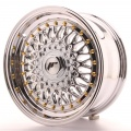 Alu kolo Japan Racing JR9 15x7 ET20 4x100/108 Chrome