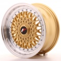 Alu kolo Japan Racing JR9 15x7 ET20 4x100/108 Gold
