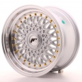 Alu kolo Japan Racing JR9 15x8 ET20 Blank Silver