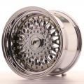 Alu kolo Japan Racing JR9 15x9 ET10 4x100/108 Chrome