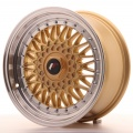 Alu kolo Japan Racing JR9 16x7,5 ET25 4x100/108 Gold
