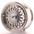 Alu kolo Japan Racing JR9 16x8 ET25 Blank Chrome