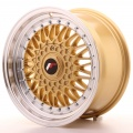 Alu kolo Japan Racing JR9 16x8 ET25 Blank Gold