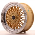 Alu kolo Japan Racing JR9 17x7,5 ET20 Blank Gold
