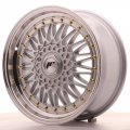 Alu kolo Japan Racing JR9 17x7,5 ET20 Blank Silver