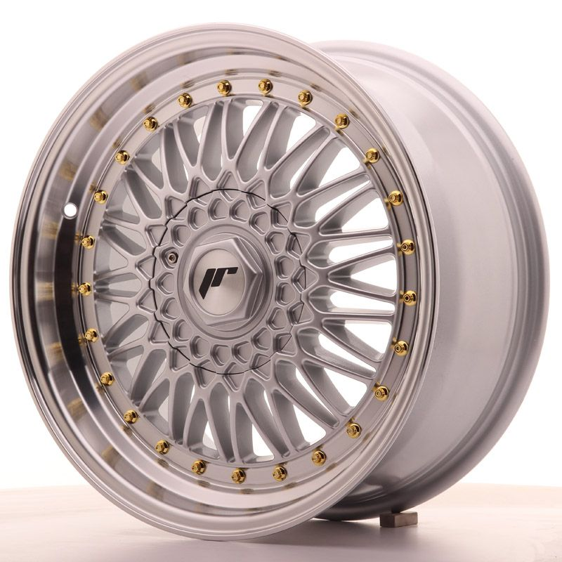 Alu kolo Japan Racing JR9 17x7,5 ET35 Blank Silver