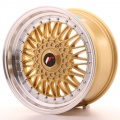 Alu kolo Japan Racing JR9 17x8,5 ET20-35 Blank Gold