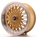 Alu kolo Japan Racing JR9 18x8 ET35-40 Blank Gold