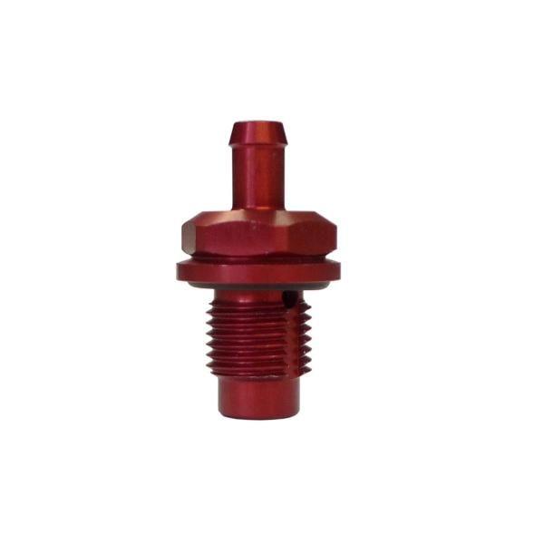"""Mocal Odvětrávací ventil do nádrže D-06 (9/16""""x18-UNF) s vývodem na hadici 7mm"""