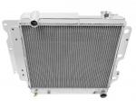 Hlinikový závodní chladič Jap Parts Jeep Wrangler YJ / TJ I4/V6 (87-06)