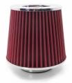 Sportovní filtr univerzální 60/65/70/76/90mm červený