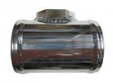 Hlíníková trubka s adaptérem na MAP senzor VAG 1.8T / TDI - průměr 63,5mm