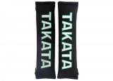 """Návleky na bezpečnostní pásy Takata 51mm (2"""") - černé"""