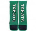 """Návleky na bezpečnostní pásy Takata 76mm (3"""") - zelené"""